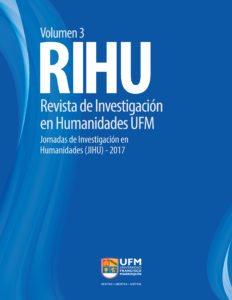 Revista RIHU Portada Volumen3
